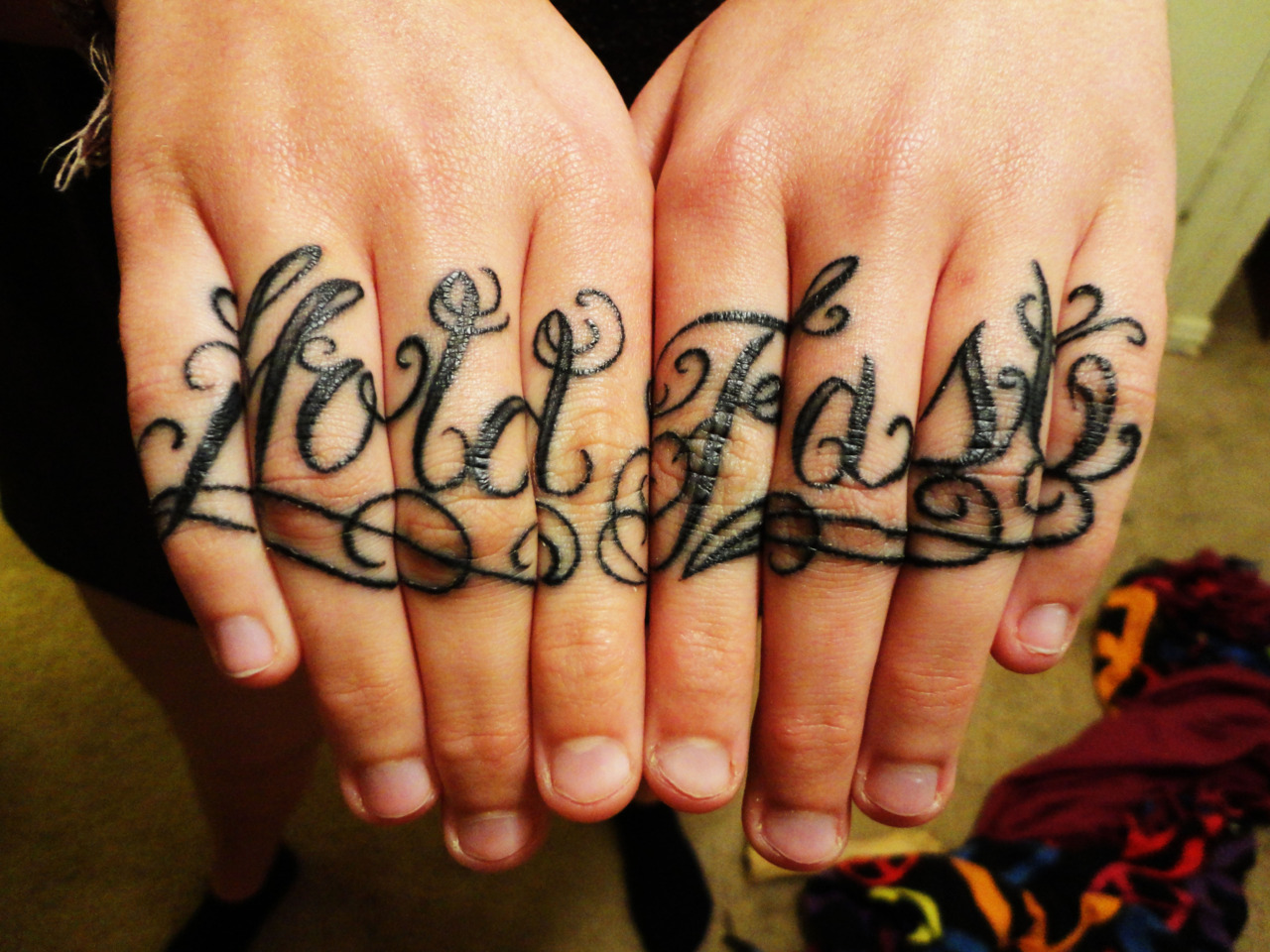 21 bad knuckle tattoos me now